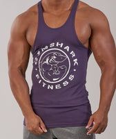 Gymshark Fitness Stringer - Nightshade Purple 12