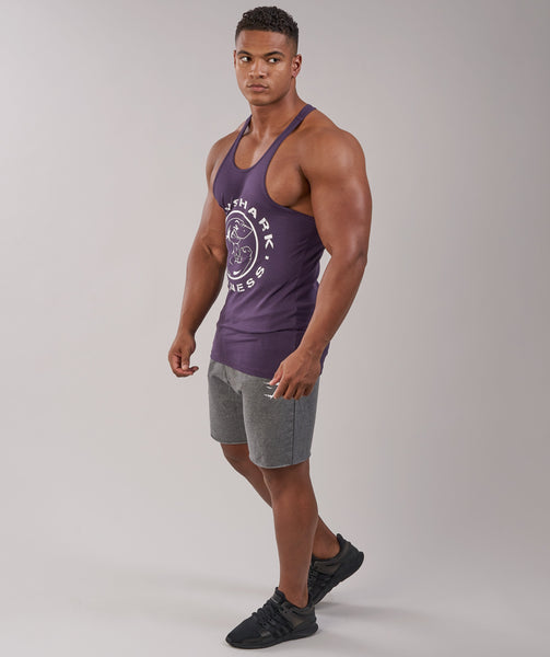 Gymshark Fitness Stringer - Nightshade Purple 1
