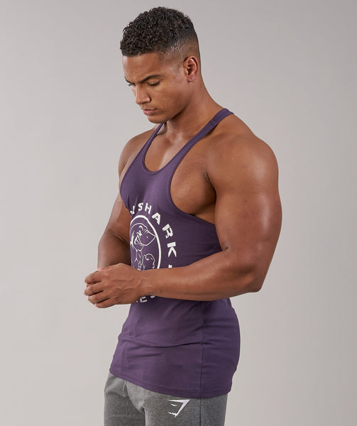 Gymshark Fitness Stringer - Nightshade Purple 2
