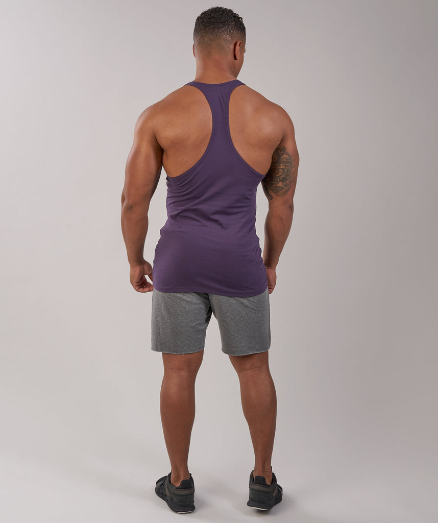 Gymshark Fitness Stringer - Nightshade Purple 5