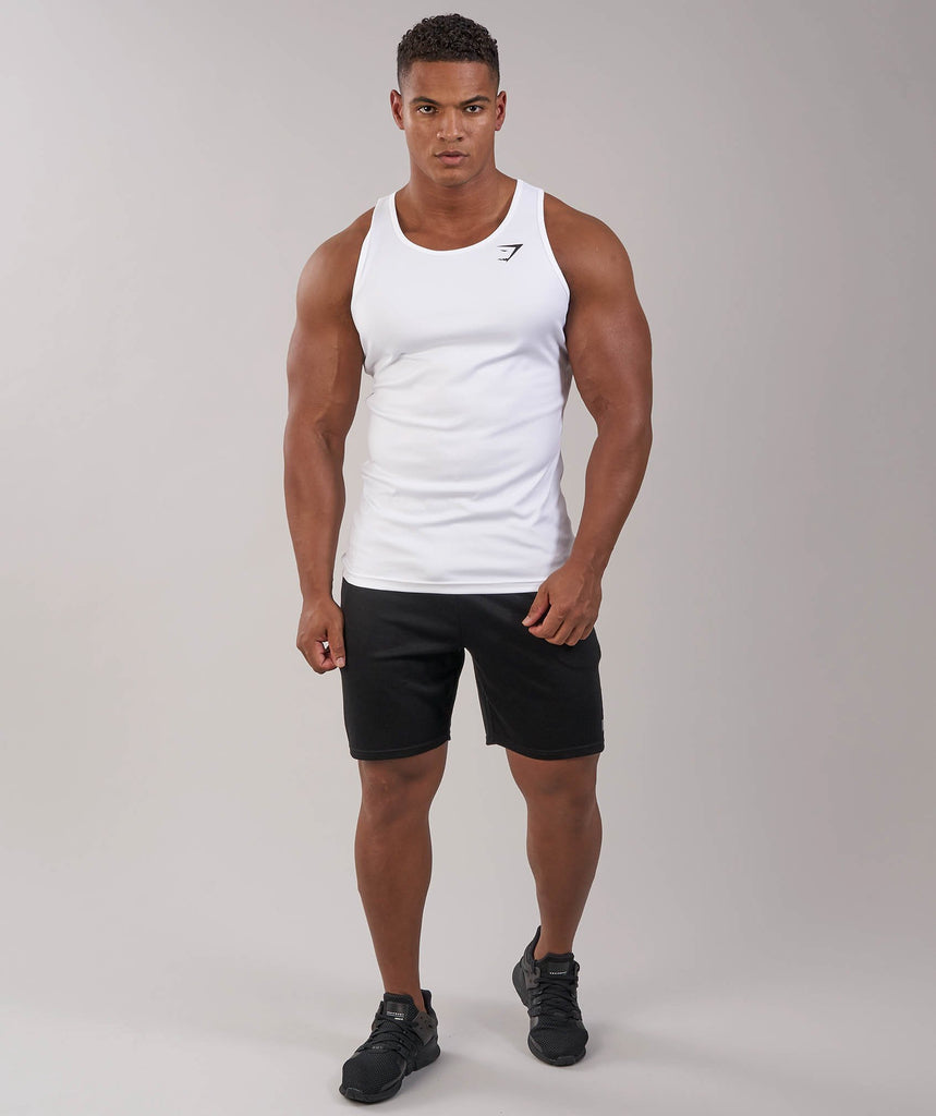 Gymshark Ability Tank - White