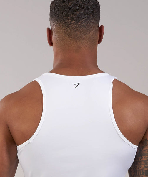 Gymshark Ability Tank - White 4