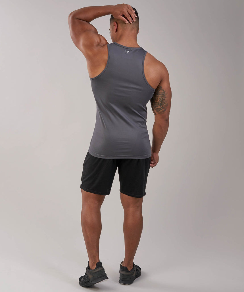Gymshark Ability Tank - Charcoal