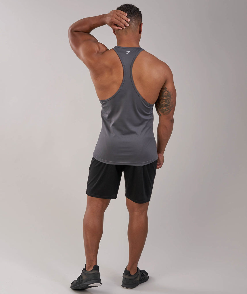Gymshark Ability Stringer - Charcoal