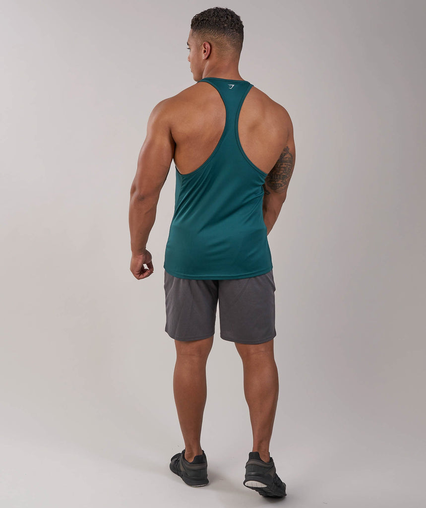 Gymshark Ability Stringer - Forest Green