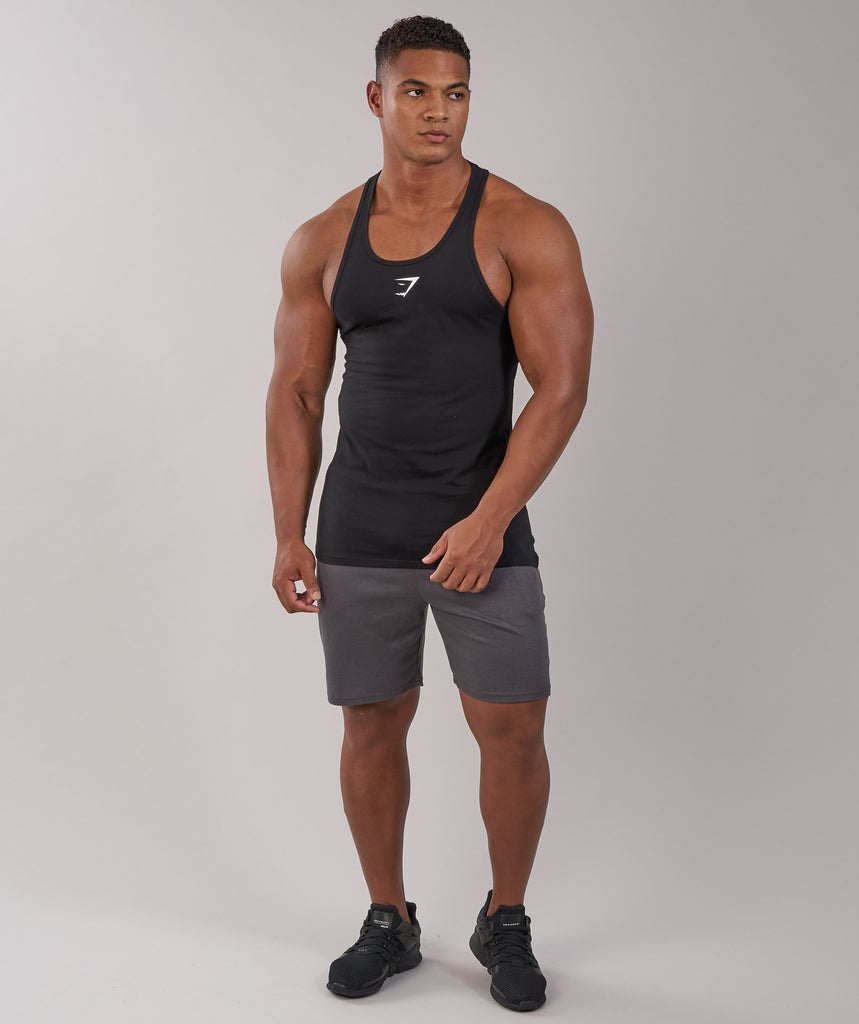 Gymshark ION Stringer - Black 1