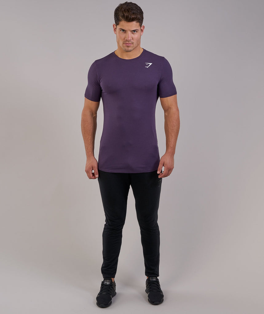 Gymshark Ark T-Shirt - Nightshade Purple