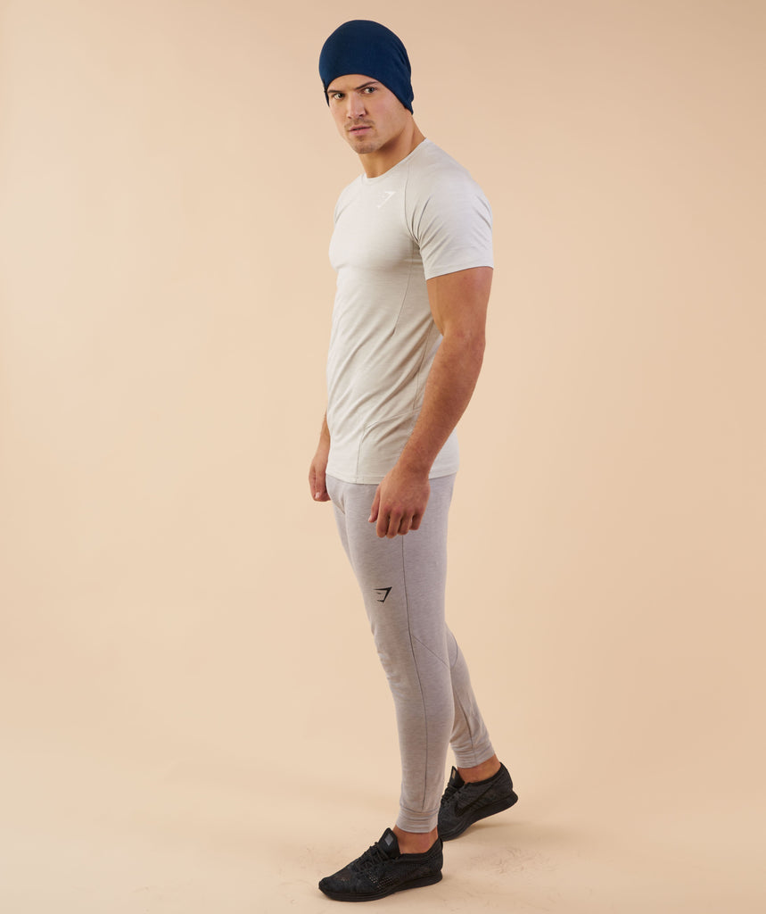 Gymshark Reversible Beanie - Sapphire Blue/Light Grey