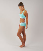 Gymshark Womens Jersey Briefs 2pk - Mint Green 9