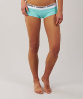 Gymshark Womens Jersey Briefs 2pk - Mint Green 12