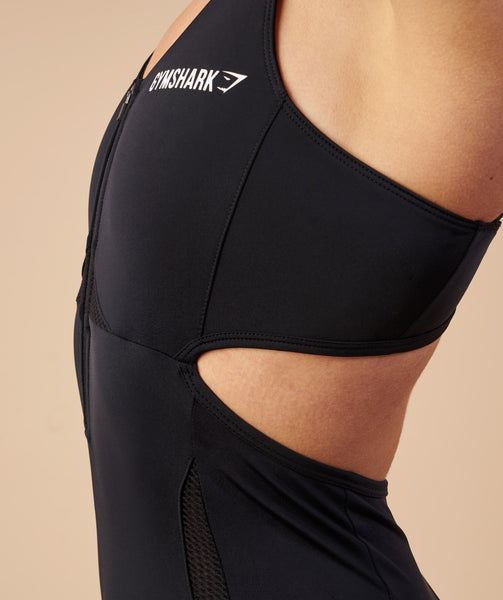 Gymshark Sports One Piece 7/8 - Black 4