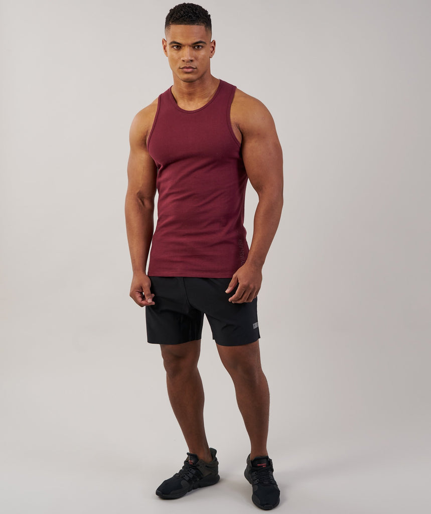 Gymshark Brushed Cotton Tank - Port