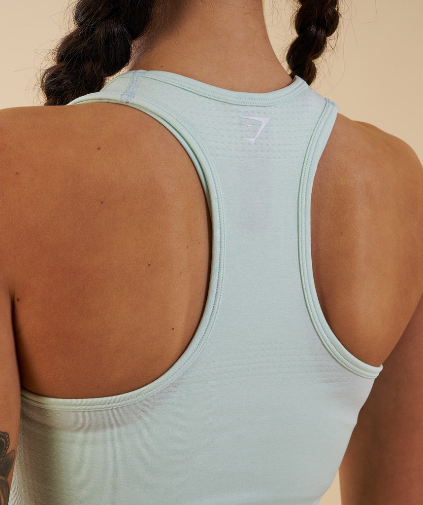 Gymshark Vital Seamless Vest - Sea Foam Green 5