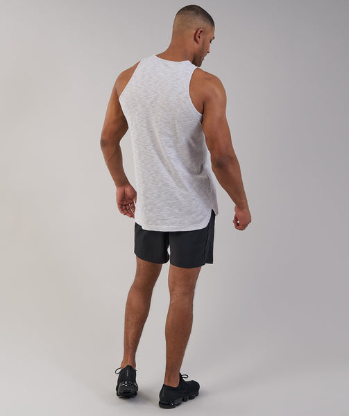 Gymshark Heather Tank - Light Grey Marl 2