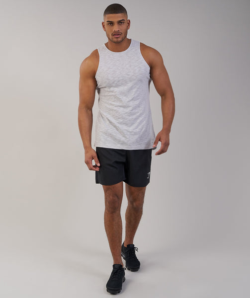 Gymshark Heather Tank - Light Grey Marl 3