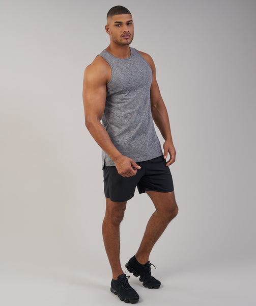 Gymshark Heather Tank - Charcoal Marl 4
