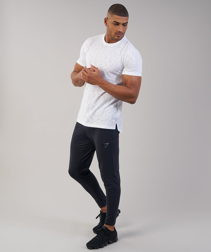 Gymshark Heather T-Shirt - White Marl 6
