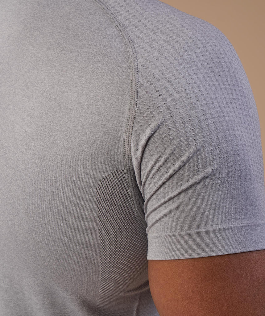 Gymshark Ghost T-Shirt - Light Grey 6