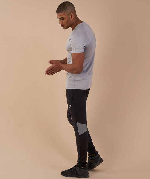 Gymshark Vertex T-Shirt - Light Grey 2