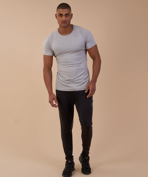 Gymshark Vertex T-Shirt - Light Grey 3