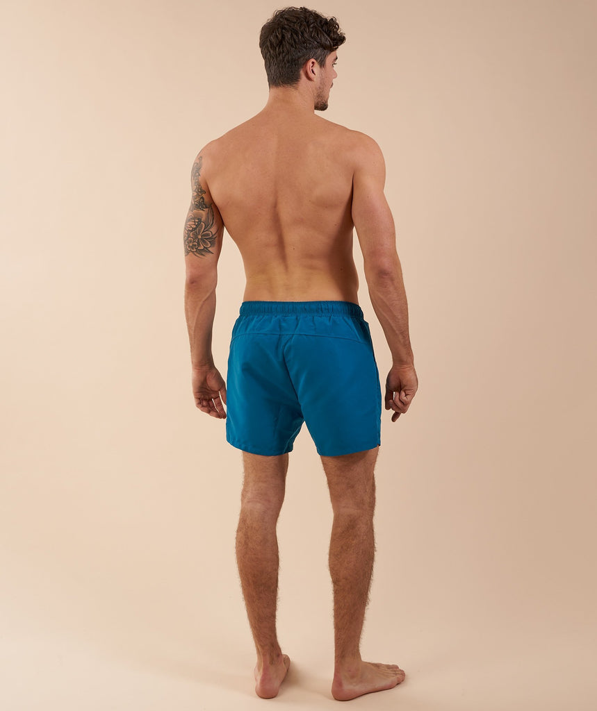 Gymshark Atlantic Swim Shorts - Deep Teal