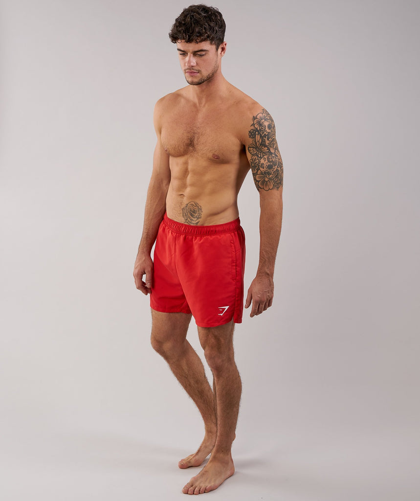Gymshark Atlantic Swim Shorts - Volcanic Red