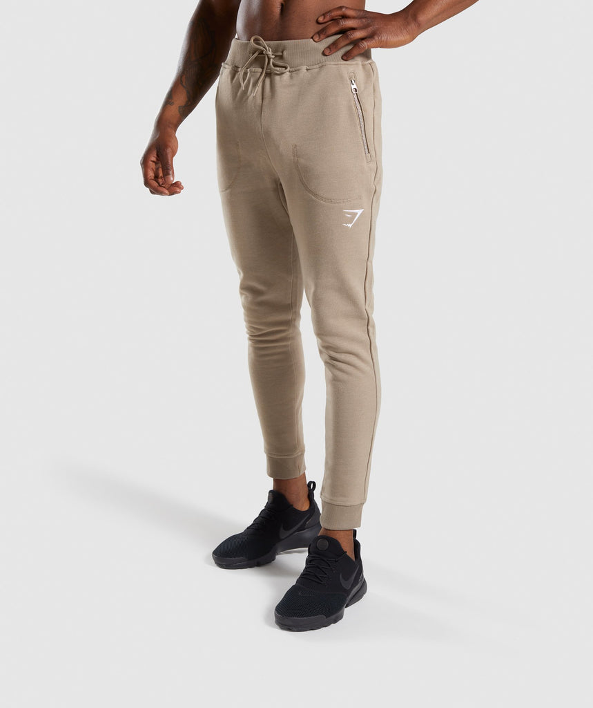 Gymshark Adapt Bottoms - Driftwood Brown Marl 4