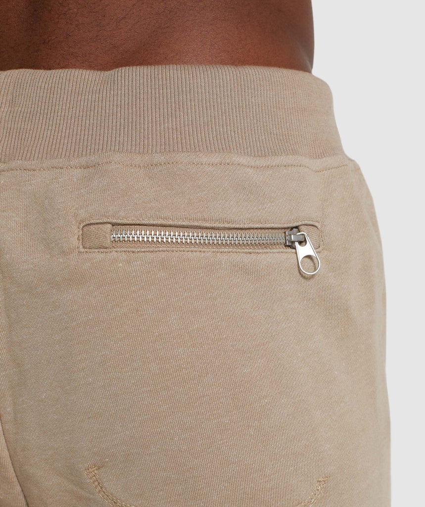 Gymshark Adapt Bottoms - Driftwood Brown Marl 5