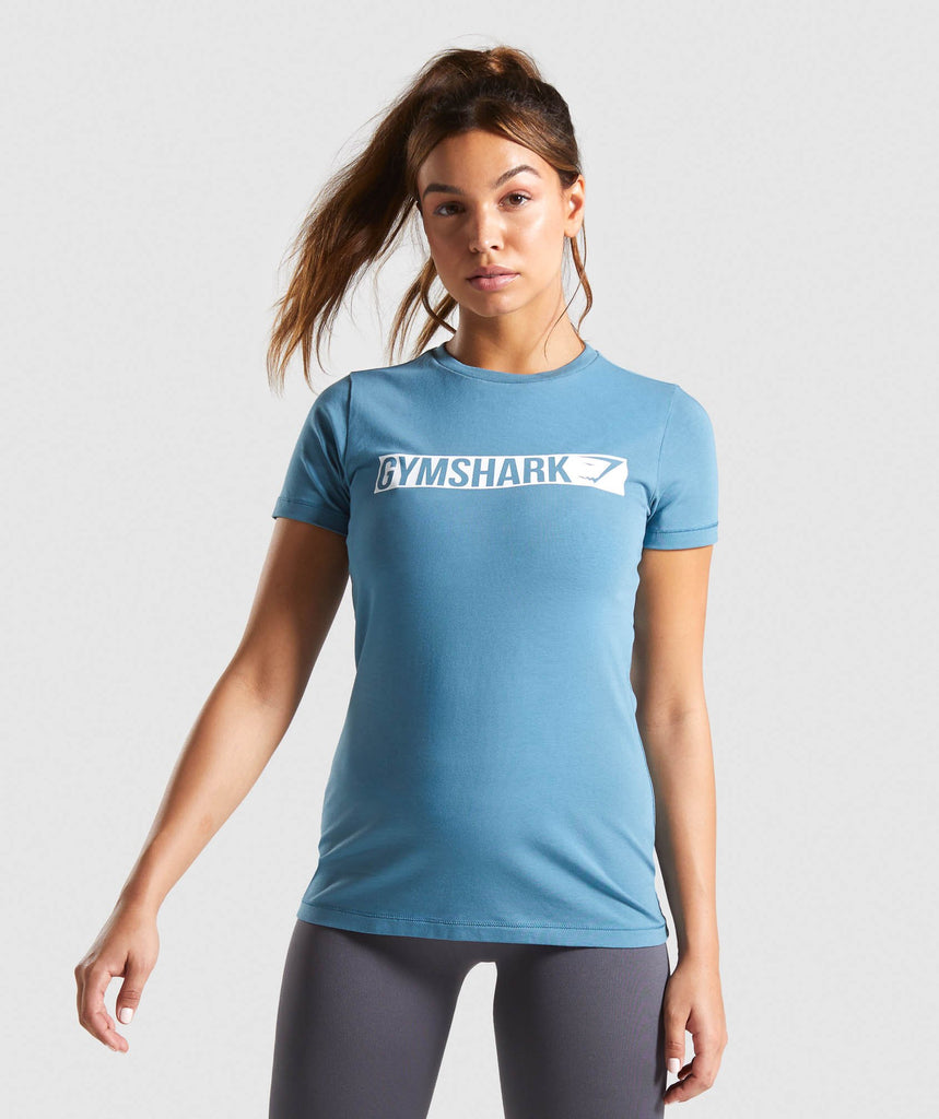 Gymshark Apollo T-Shirt - Teal 1