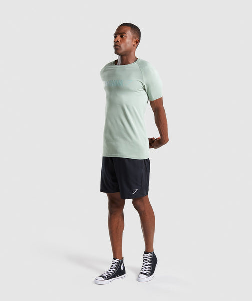 Gymshark Apollo T-Shirt - Pale Green 3