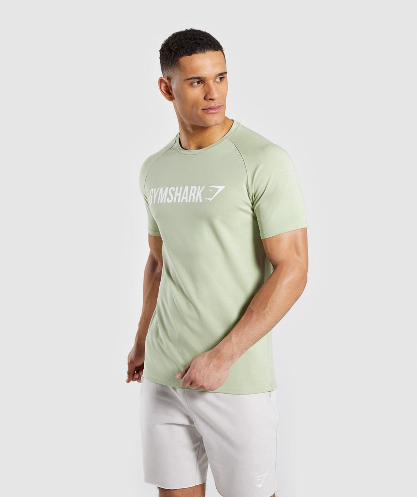 Gymshark Apollo T-Shirt - Green 1
