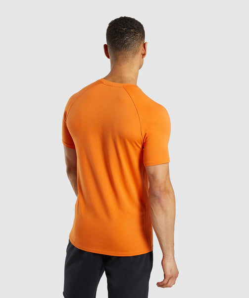 Gymshark Apollo T-Shirt - Orange 1