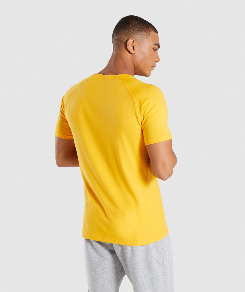 Gymshark Apollo T-Shirt - Citrus Yellow 2