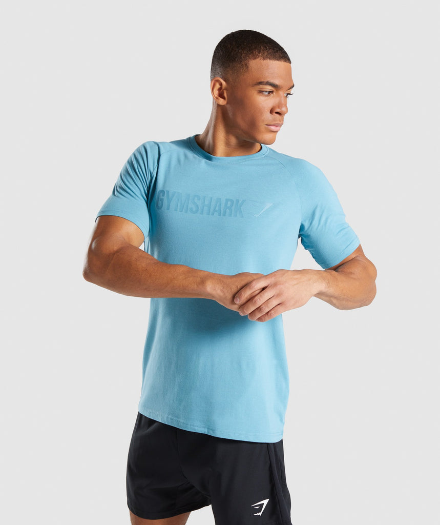Gymshark Apollo T-Shirt - Dusky Teal 1