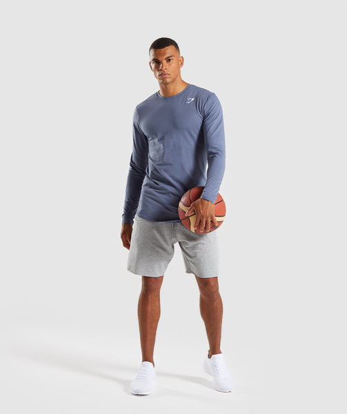 Gymshark Ark Long Sleeve T-Shirt - Aegean Blue 3