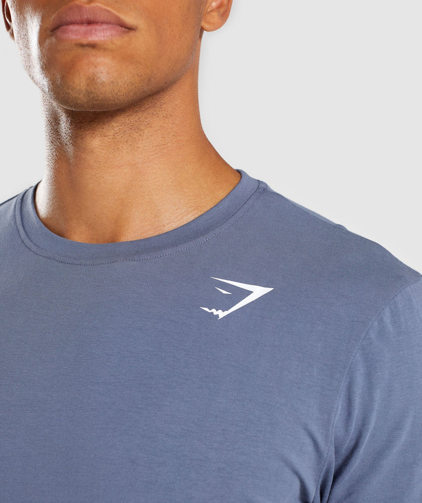 Gymshark Ark Long Sleeve T-Shirt - Aegean Blue 6