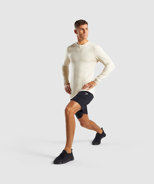 Gymshark Ark Long Sleeve T-Shirt - Warm Beige 3