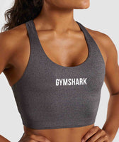 Gymshark Ark Sports Bra - Charcoal Marl 11