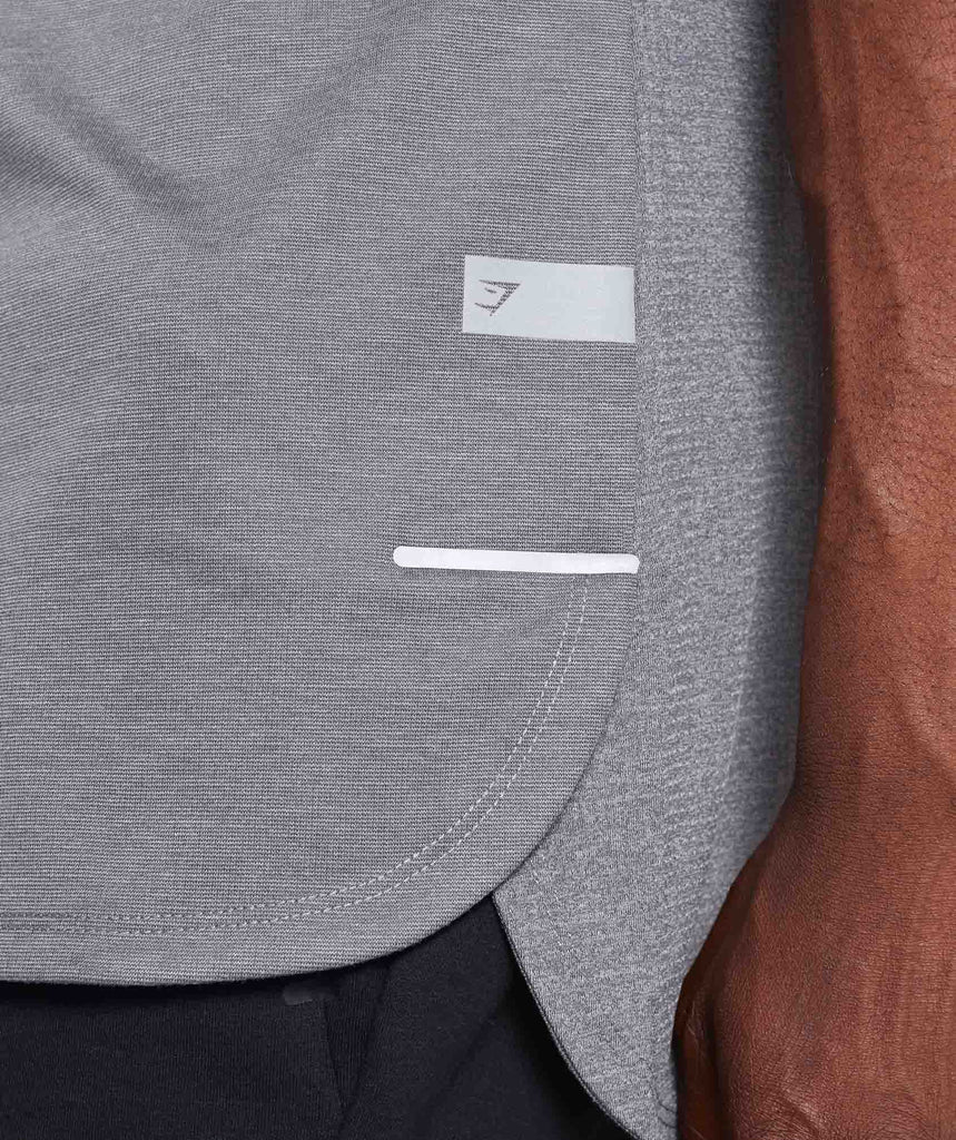 Gymshark Breathe T-Shirt - Smokey Grey Marl 5