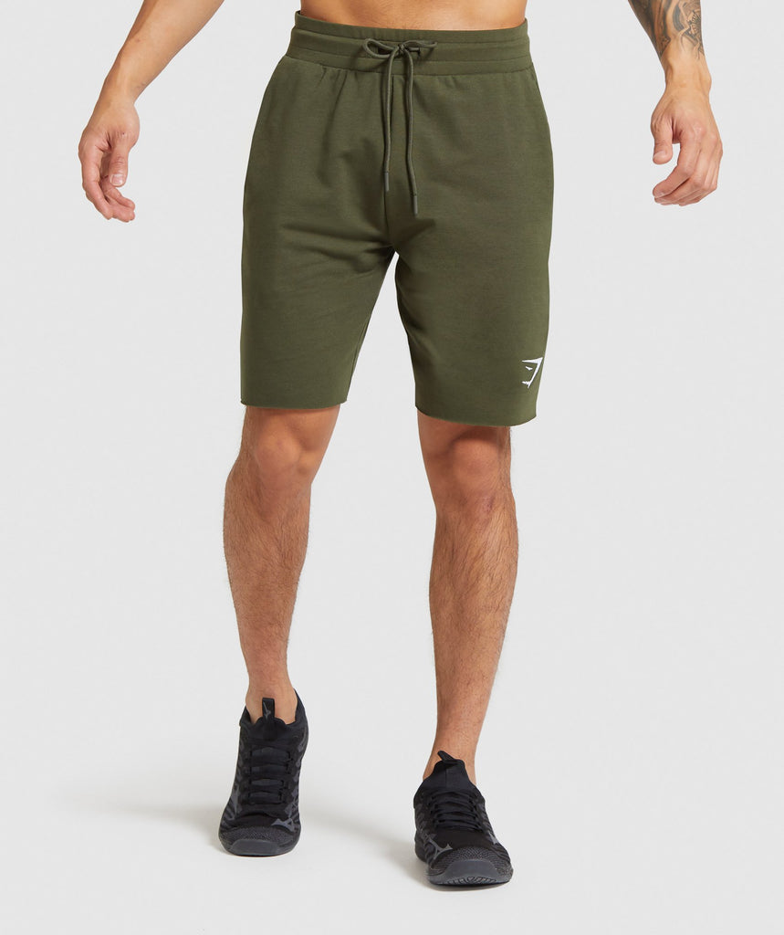 Gymshark Critical Shorts - Dark Green 1