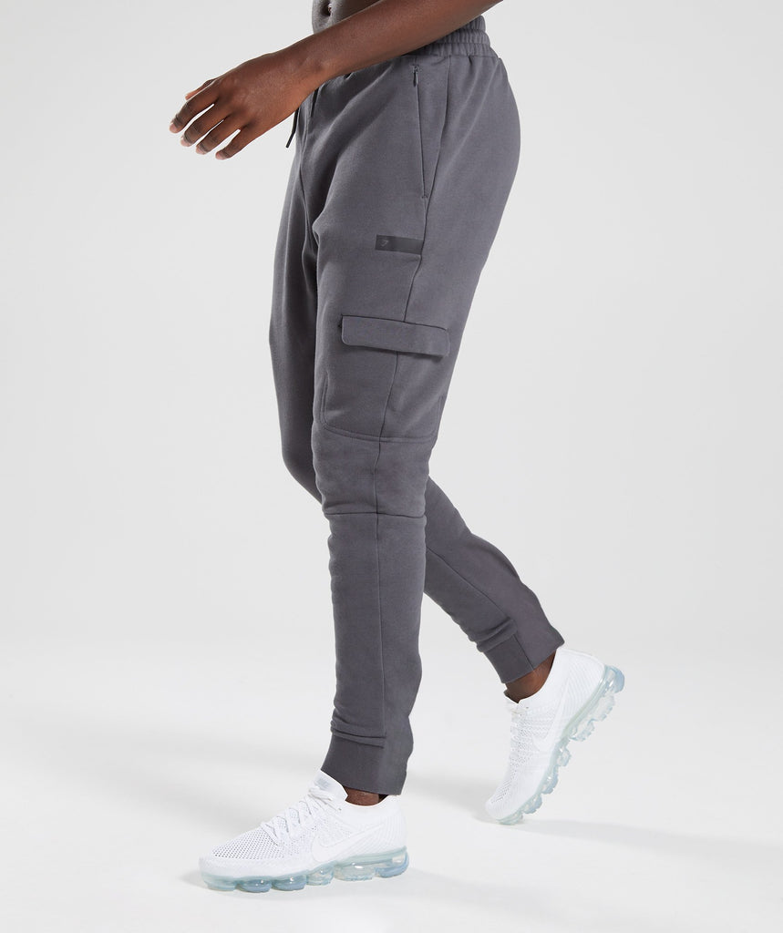 Gymshark Cargo Bottoms - Charcoal 1