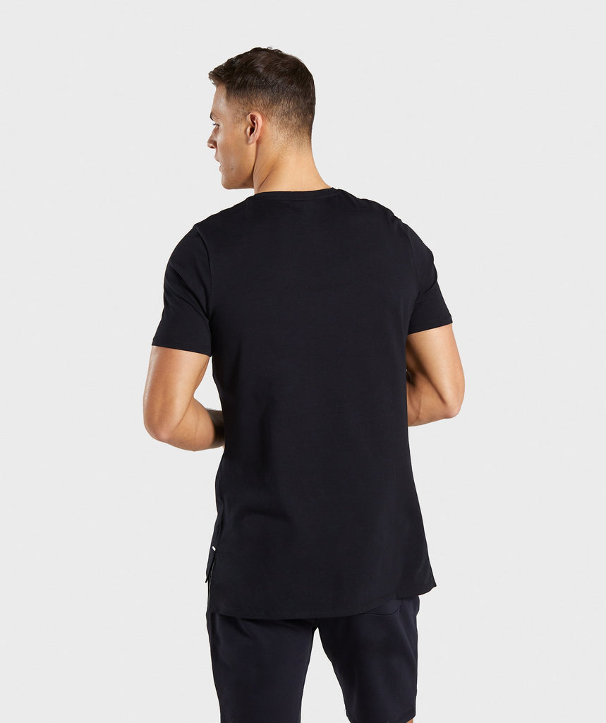 Gymshark Central T-Shirt - Black 2