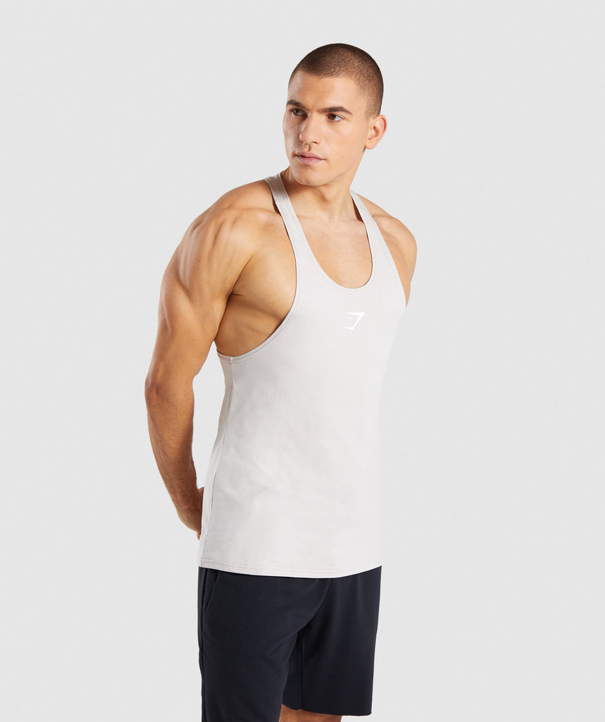 Gymshark Critical Stringer - Grey 1