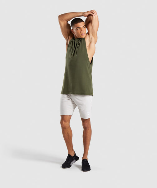 Gymshark Critical Drop Armhole Hoodie - Green 3