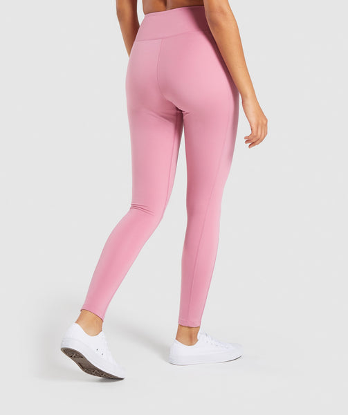 Gymshark Dreamy Leggings 2.0 - Dusky Pink 1