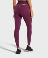 Gymshark Embody Leggings - Dark Ruby 8