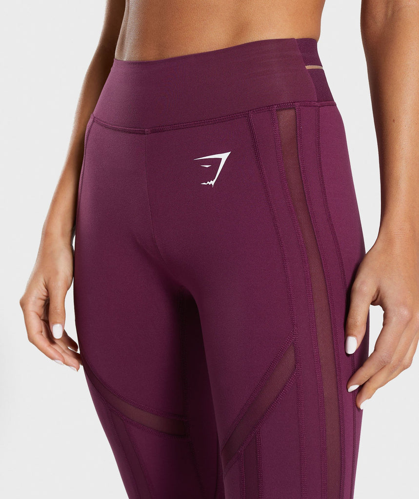 Gymshark Embody Leggings - Dark Ruby 5