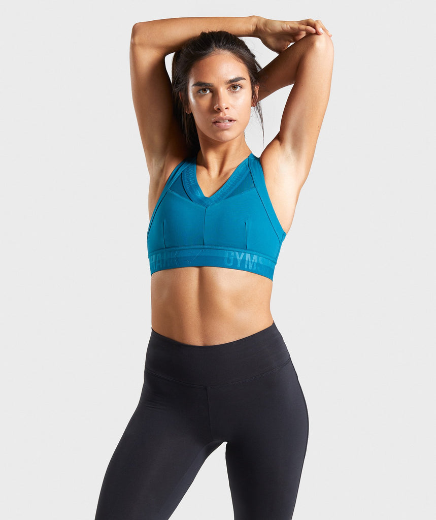 Gymshark Empower Sports Bra - Deep Teal 1