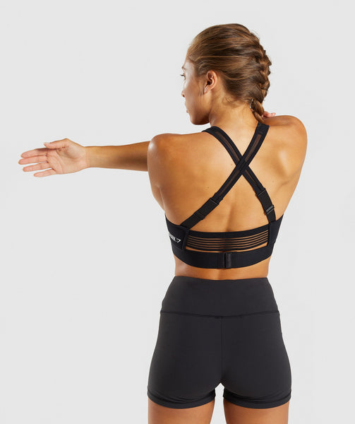 Gymshark Endurance Sports Bra - Black 1