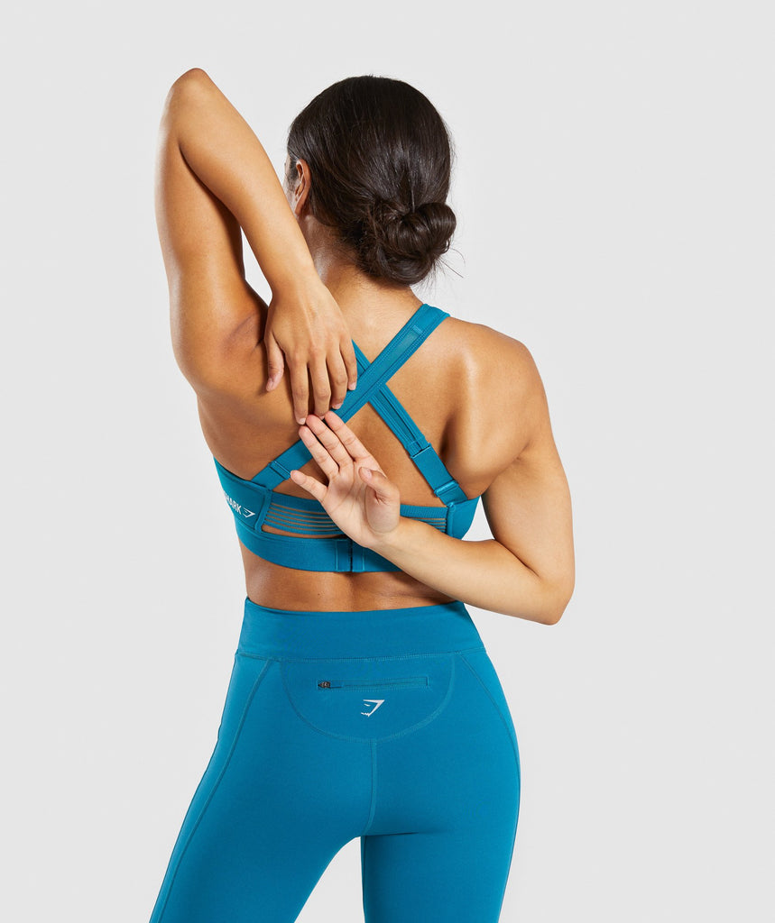 Gymshark Endurance Sports Bra - Deep Teal 2